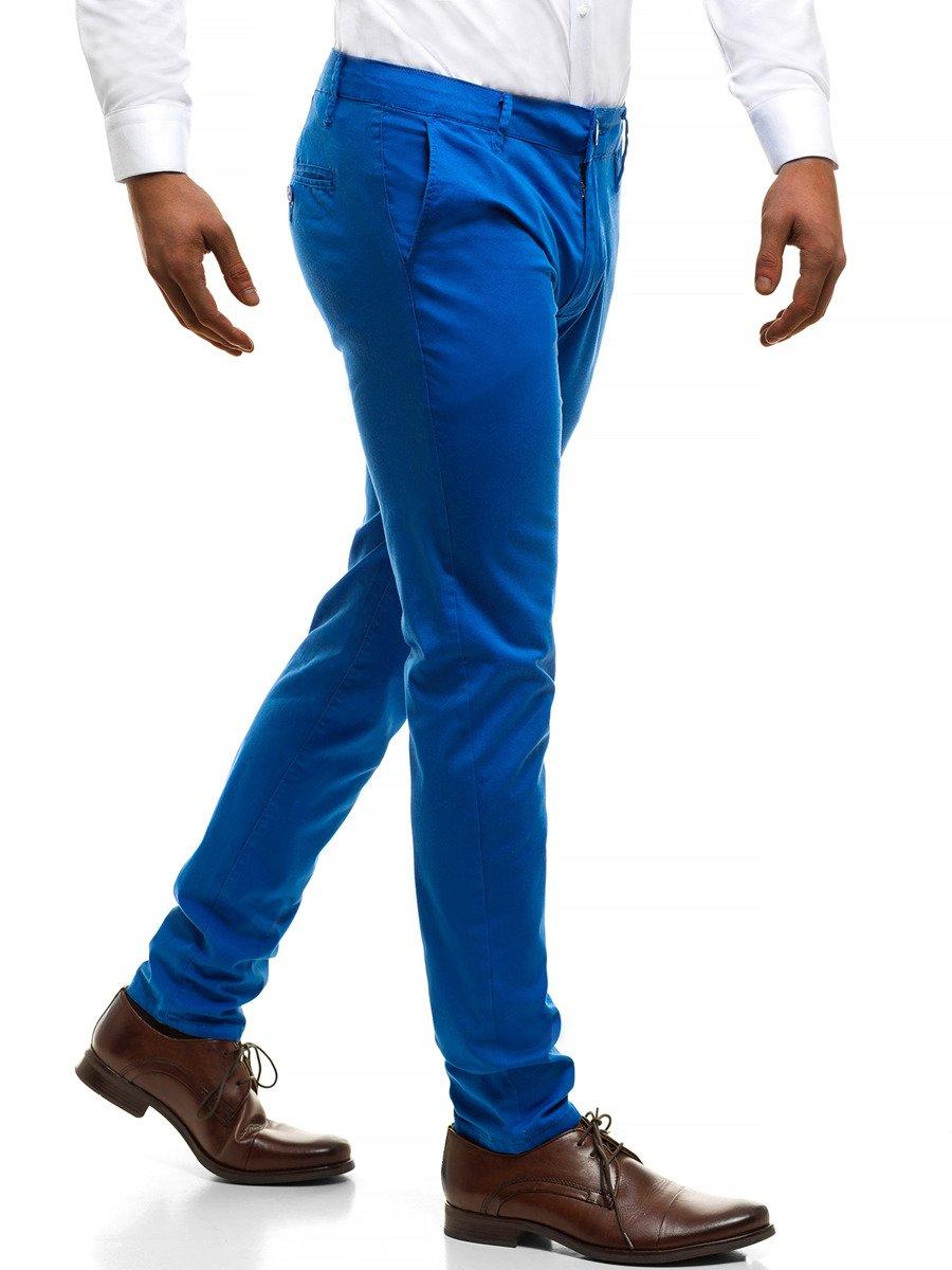 ... Bruno Leoni 9848 Pánské Kalhoty Modré ... b156d110de