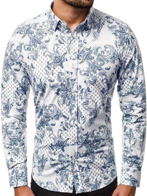 Pánské neformální košile s dlouhým rukávem – Ozonee.cz  5 fb6705a3e9